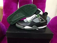 more photos c1655 811c3 Air Jordan Iv 4 Retro Mens Shoes Oregon Ducks 2014 Black Green Switzerland Nike  Shoes Cheap