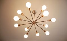 Sputnik Chandelier - Southern Lights Electric Co.