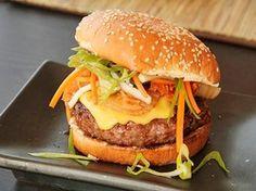 Sweet Barbecue Kim-cheese Burgers | Serious Eats : Recipes
