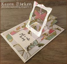 Butterfly Pull Tab Card