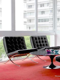 Barcelona Chair - Gilt Home