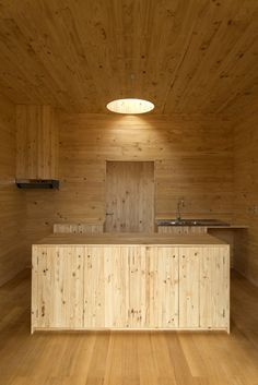 Meri House by Pezo Von Ellrichshausen Architect in, La Florida, Chile 2014 via archdaily.com