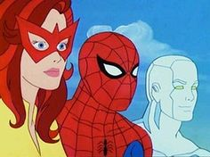 Spiderman & His Amazing Friends. My all time favorite Spiderman animated series. That Firestar is hot stuff.