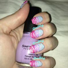 Sugar spun nails