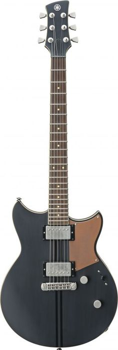 Revstar RSP20CR Brushed Black Electric Guitar - Made In Japan. Inspired by the stylish lines and effortless performance of the Café Racer bikes that coloured the streets of 1960s London, the Revstar RSP20CR is a stripped down, tuned up, high performance guitar with sublime craftsmanship.