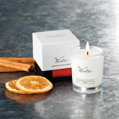 Buy Candles & Fragrance > Candles > Winter Votive Candle from The White Company Buy Candles, Votive Candles, Christmas Candles, Christmas Ideas, The White Company, Stocking Fillers, Christmas Shopping, Unique Gifts, Fragrance