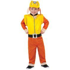 Paw Patrol: Rubble Classic Costume - Halloween - Holiday & Seasonal   Tv's…