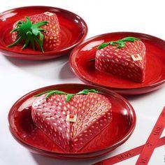 Saint Valentin 2016, les grands sucrés s'enflamment #Seve #patisserie #love #cake #red #valentinesday #dessert