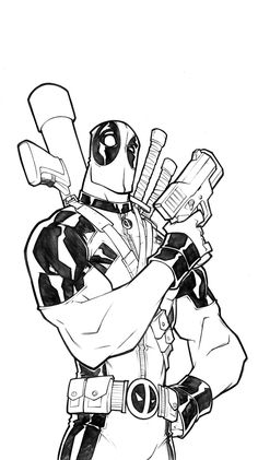 Deadpool lines [HD] by thekidKaos.deviantart.com on @deviantART