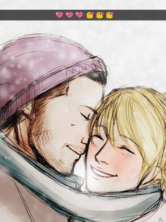 Nyx Ulric and Lunafreya