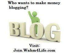 Want to start a home business where you just have to blog and share?