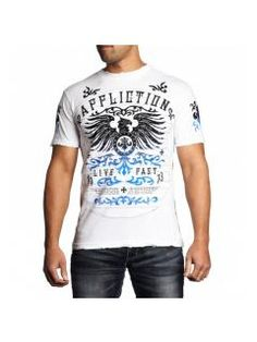 Men's T-Shirt Affliction Secure Measure