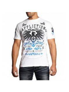 Men's T-Shirt Affliction Secure Measure