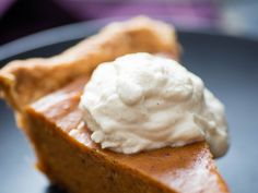 This simple, butterscotch-y whipped cream is the ultimate companion to Sweet Potato Pie, but it's just as lovely spooned over brownies or swirled into your morning coffee. In this instance, vanilla bean is truly worth the splurge, as it keeps the chantilly's water to a bare minimum, allowing it to stay fluffy for days in the fridge (a handy make-ahead feature around the holidays).