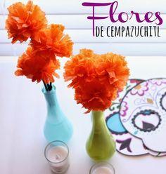 Cómo hacer flores de Cempazuchitl para el altar de muertos #diadelosmuertos #cempazuchitl #altar