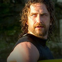 #GerardButler as Frosty Hesson in #ChasingMavericks. - @officialchasingmavericks- #webstagram