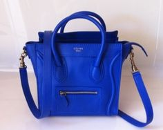 Celine bag! I need one and I love the blue!