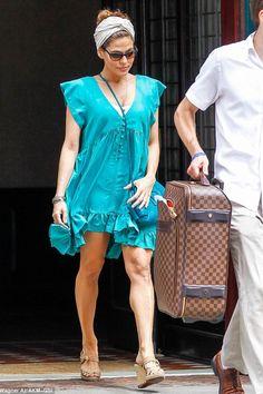 Summer dress! Thanks Eva Mendes!