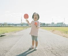 Creative Portraits of a Daughter by Nagano Toyokazu