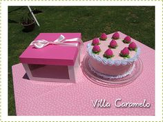 Torta en caja