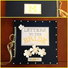 Letters to the Bride Pinterest Win!