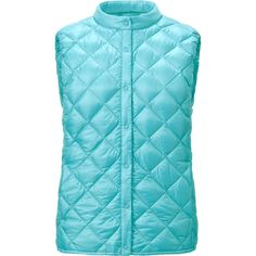Women Ultra Light Down Compact Quilted Vest in 62 Blue
