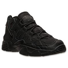 Boys' Grade School Nike Air Slant Training Shoes | FinishLine.com | Black/Black/Black