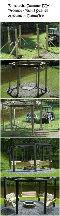 Fantastic+Summer+DIY+Project+–+Build+Swings+Around+a+Campfire