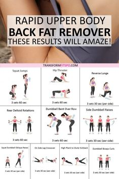 #backfat #getfit #womensfitness #womensworkouts #femalefitness #upperbodyexercises This upper body circuit will remove your back fat and leave you with a super sexy back that will amaze you! Get ready for heads to turn ;) Don't forget to repin if this back fat remover helped you. #Backpain Fitness Workouts, Yoga Fitness, Health Fitness, Fitness Diet, Fitness Sport, Physical Fitness, Fitness Goals, Lean Body Workouts, Fitness Weightloss
