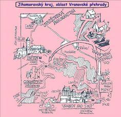 MALOVANÉ CESTOVÁNÍ :: Béčko-Tc Old Maps, Czech Republic, Traveling, Memes, Children, School, Ideas, Historia, Antique Maps