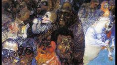 Pavel Filonov 帕維爾.菲洛諾夫 (1883-1941)  Primitivism  Analytical Realism  Rus...