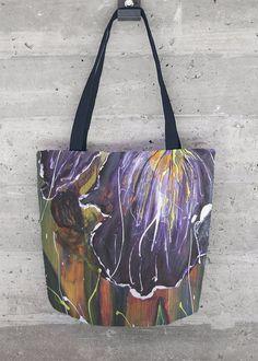 Bolso De Mano - Púrpura Del Iris De Mano Por Vida Vida mhb1S