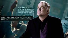 Philip Seymour Hoffman in Mockingjay