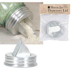 Mason Jar Dispenser, Mason Jar Lids, Mason Jar Crafts, Mason Jar Art, Mason Jar Storage, Mason Jar Chandelier, Mason Jar Lighting, Lany, Diy Hanging Shelves