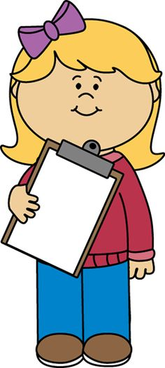 Little Girl Holding a Doll   Clip art for schedules ...
