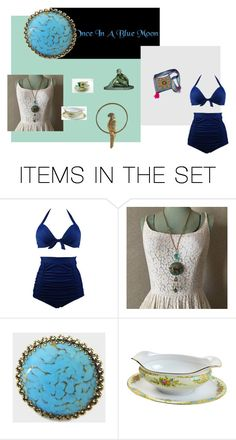 """""""Once in a blue moon"""" by underlyingsimplicity ❤ liked on Polyvore featuring art"""