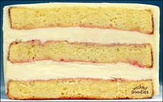 Wicked Goodies | Strawberries and Cream Cake Filling Recipe | http://www.wickedgoodies.net