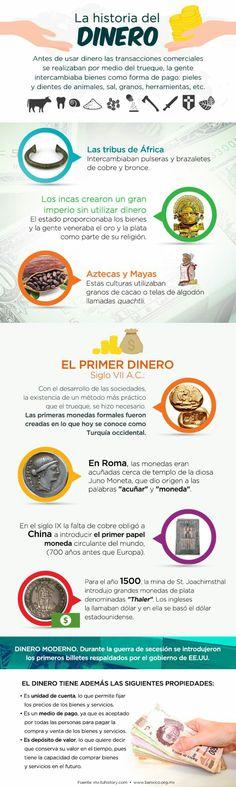 La historia del dinero - http://conecta2.cat/la-historia-del-dinero/ @Conecta2cat