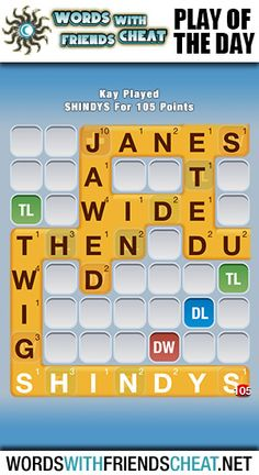 Words With Friends, Cheating, Play