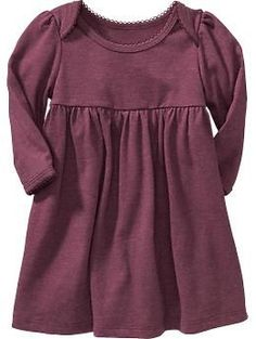 Old Navy Scallop-Trim Dresses for Baby - Girls Fall Dresses, Girls Fall Outfits, Little Girl Outfits, Baby Girl Dresses, Baby Dress, Fall Toddler Outfits, Old Navy Baby Girl, New Baby Girls, Old Navy Kids