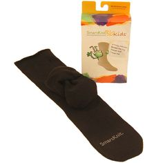 SmartKnit BIG Kids Socks  SmartKnitBIGkids® are patented seamless socks that are super soft, do not wrinkle and are proven to reduce irritation. 100% SEAMFREE, the form-fitting design results in socks that hug the feet. This design also helps to keep socks on the wiggliest of toes!