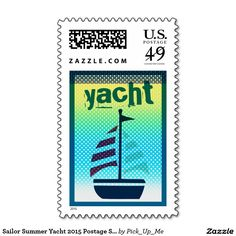 Sailor Summer Yacht 2015 Postage Stamps