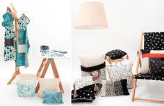 COSA BONITA Diseño de estampas para la creación de textiles para decoración. http://charliechoices.com/cosa-bonita/
