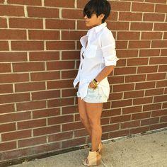2340 Likes 68 Comments Kyrzayda Rodriguez (Kyrzayda Rodriguez) on Instagra Summer Chic, Spring Summer Fashion, Autumn Fashion, Chic Outfits, Summer Outfits, Fashion Outfits, Womens Fashion, Estilo Cool, Weekend Wear