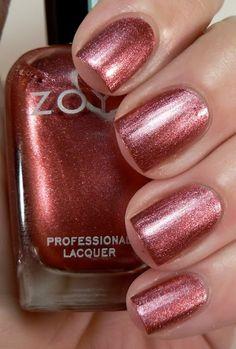 Zoya Tess. Fall pink