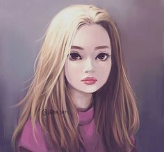 Character Design Illustration~ By Hiba_tan Hiba Tan, Evvi Art, Art Sketches, Art Drawings, Girly M, Digital Portrait, Digital Art, Art Inspo, Art Girl