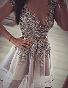 luxurious homecoming dresses, short homecoming dresses, deep