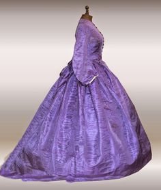 Purple late CW gown