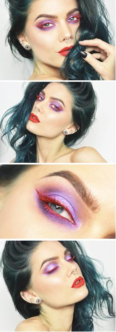 Linda Hallberg iridescent red