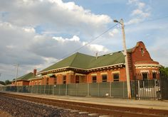 """Lincoln Depot"" in Lincoln Illinois  http://route66jp.info Route 66 blog ; http://2441.blog54.fc2.com https://www.facebook.com/groups/529713950495809/"